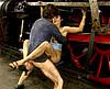 video de sexe Anita Dark enculée par un cheminot