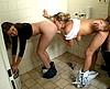 video porno  toilet