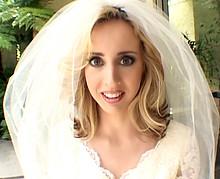 .Gang bang torride pour la jeune mariée infidèle