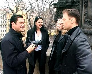 Rocco invite 2 étudiantes tchèques à une partouze