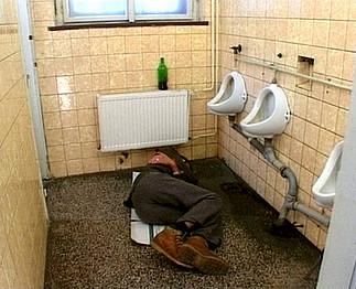 Video toilette porno toilette
