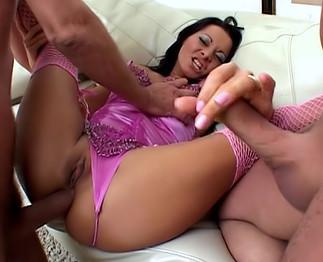 Sandra Romain se fait casser la rondelle