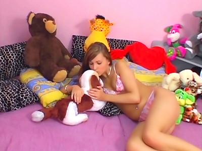 Beau-papa explose la fente de sa ravissante-nana dans Best of Video2Cul 1