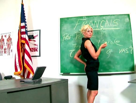 femme excitante il baize sa prof